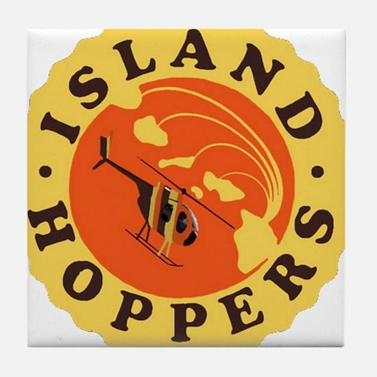 Island Hoppers Tile Coaster