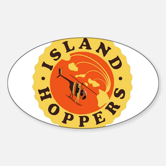 Island Hoppers Decal