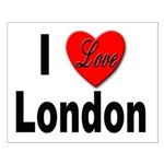 I Love London Small Poster