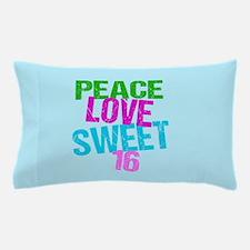 Cute Sweet 16 Pillow Case