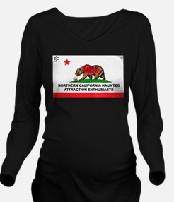 Cute Norcal Long Sleeve Maternity T-Shirt