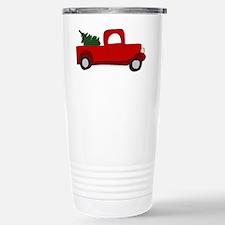 Cute Christmas tree Travel Mug