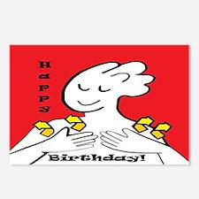 ASL Happy Birthday Postcards (Package of 8)