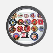NORTHERN SOUL PATCHES Wall Clock