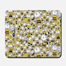 Peanuts Charlie Brown Collage Mousepad