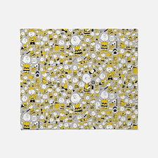 Peanuts Charlie Brown Collage Throw Blanket