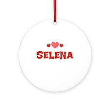 Selena Ornament (Round)