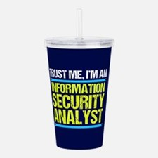 Security Analyst Acrylic Double-wall Tumbler