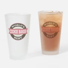 cookie baker Drinking Glass