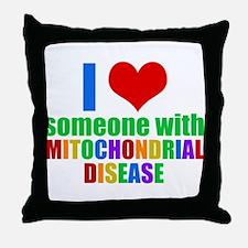 Mitochondrial Disease Throw Pillow