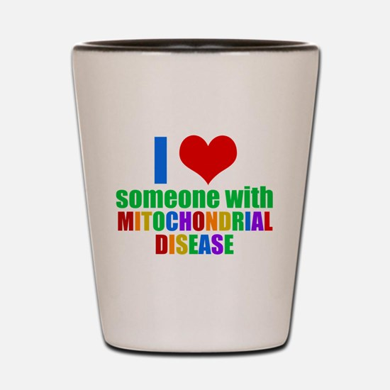 Mitochondrial Disease Shot Glass