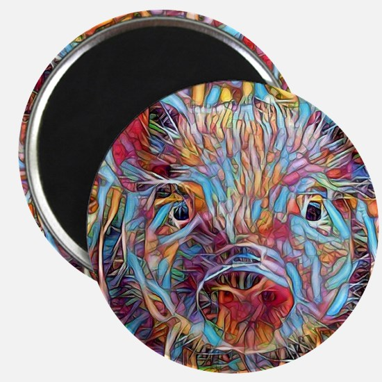 Cute Year of the pig Magnet