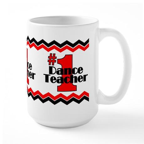 #1 Dance Teacher Large Mug