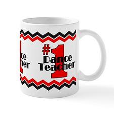 #1 Dance Teacher Small Mug
