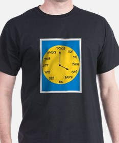 Funny French Clock T-Shirt