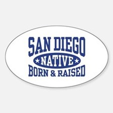 San Diego Native Decal