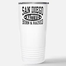 San Diego Native Stainless Steel Travel Mug