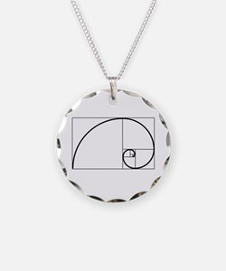 Fibonacci Spiral Necklace