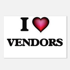 I love Vendors Postcards (Package of 8)