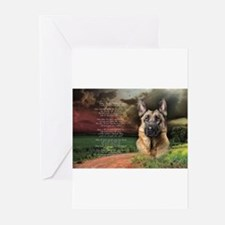 godmadedogs(oval) Greeting Cards