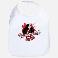 BarbershopBabe T-shirt.psd Baby Bib