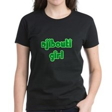Djibouti Girl Cute Tee