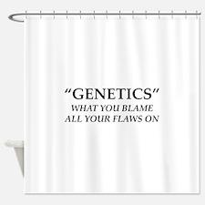 Genetics Shower Curtain