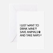 I Just Want To Greeting Cards (Pk of 10)
