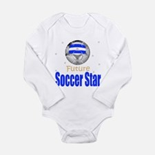 Future Soccer Star Argentina Baby Body Suit