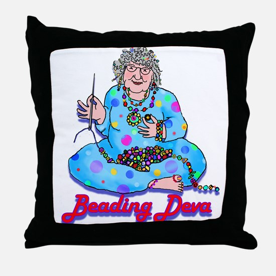 Beading Throw Pillow