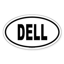 DELL Oval Decal