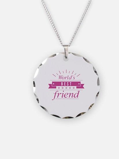 World's Best Friend Necklace