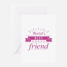 World's Best Friend Greeting Card