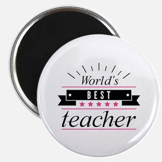 World's Best Teacher Magnet