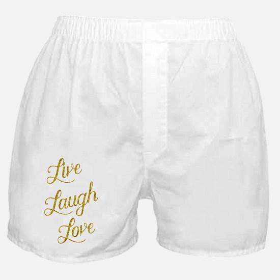 Cool Glittery Boxer Shorts
