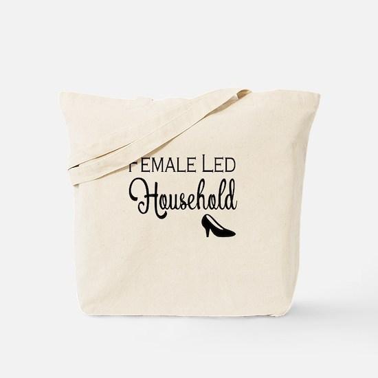Female Led Household Tote Bag
