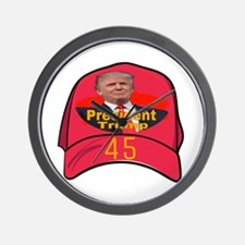 President Trump 45 Wall Clock