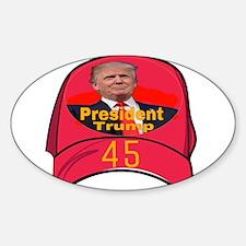 President Trump 45 Decal