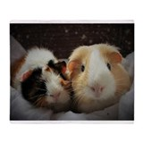 Guinea pigs Fleece Blankets