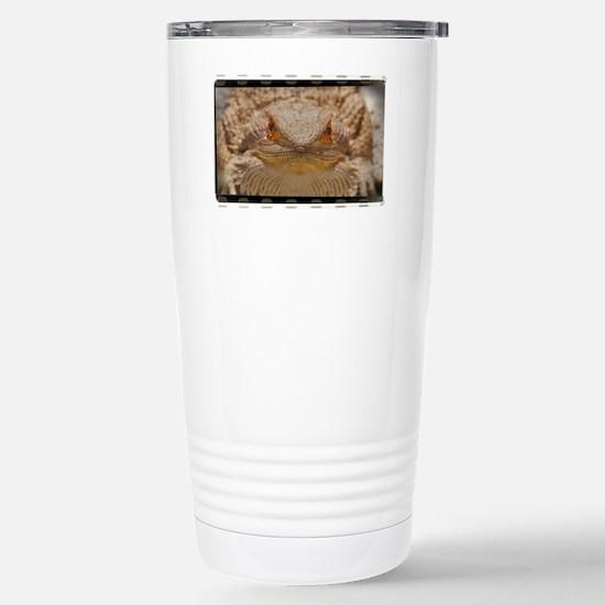 Bearded Dragon (OF) Stainless Steel Travel Mug
