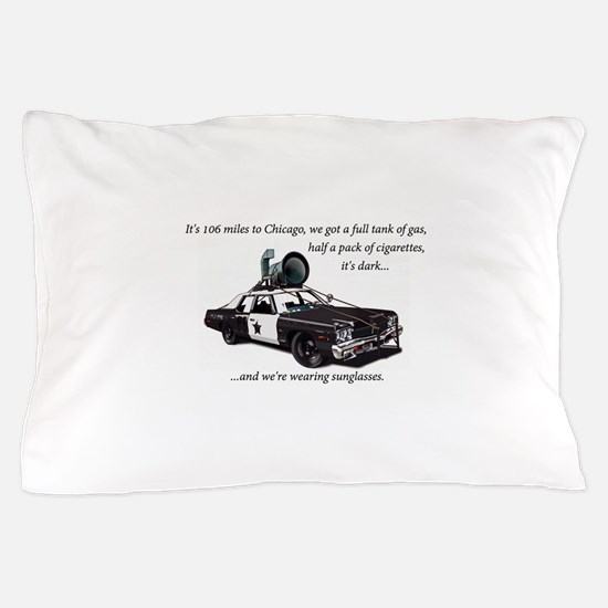 Bluesmobile Pillow Case