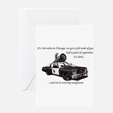 Bluesmobile Greeting Cards