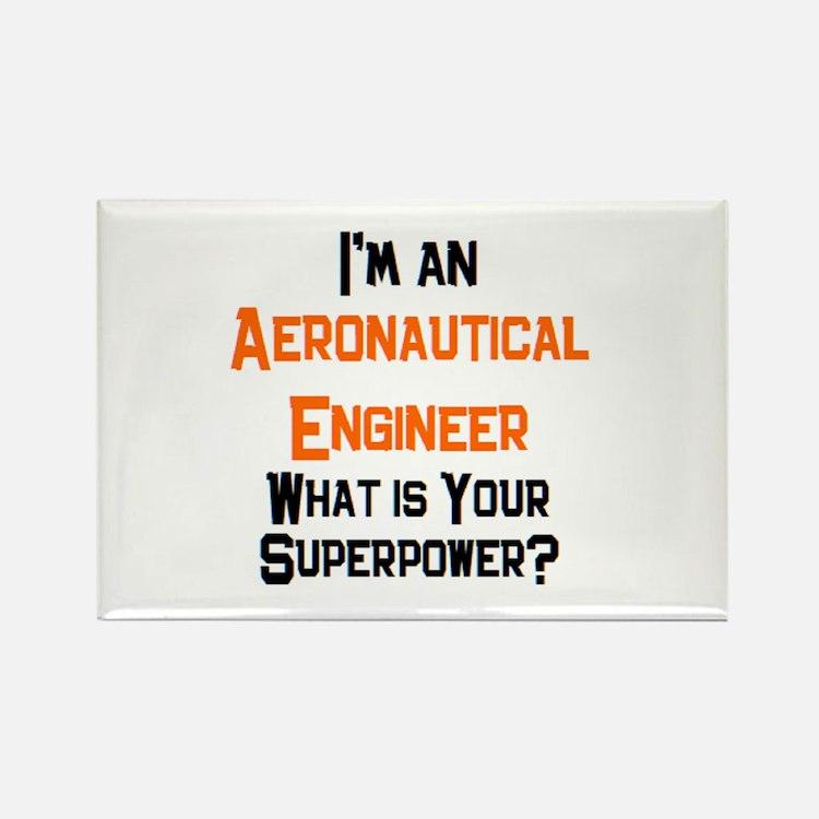 aeronautical engineer Rectangle Magnet
