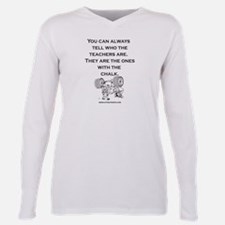 Tshirt teachers chalk illustrator T-Shirt