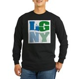 Lake george Long Sleeve T-shirts (Dark)