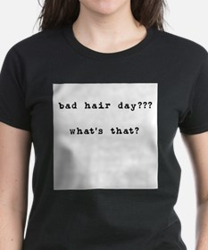 Bad Hair Day? What's That Ash Grey T-Shirt