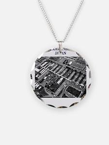 I was born at Tachikawa Air Base Japan Necklace