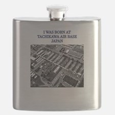 I was born at Tachikawa Air Base Japan Flask