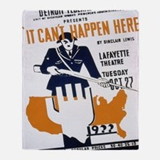 Cool Administration Throw Blanket