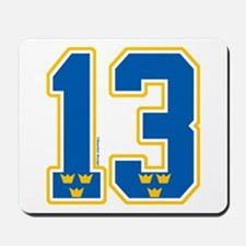 SE Sweden(Sverige) Hockey 13 Mousepad